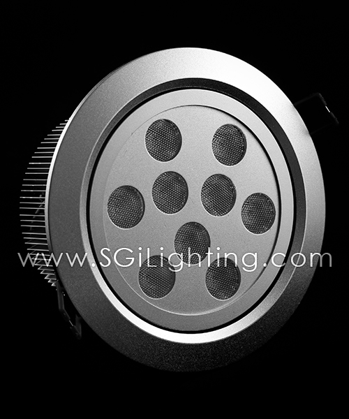 SGi LED Downlights [P]_9 Watt Swivel Light