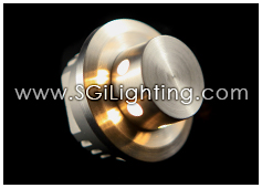 Image of SGi's LED Accent Light - 1 Watt Step Light StarBurst - Professional Grade