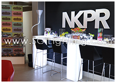 Image of SGi's LED Retail Display Lighting for NKPR TIFF