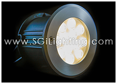 SGi LED Inground Light 12 Watt Round