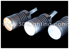 SGi's LED Spot LIght 3 Watt Cylinder