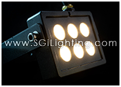 SGi LED Spot Light 6 Watt Square