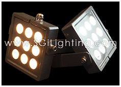 SGi LED Spot Light 9 Watt Square