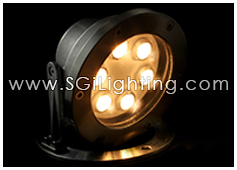 SGi LED Underwater Light 18 Watt Round