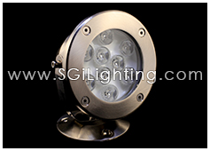 SGi LED Underwater Light 9 Watt Round