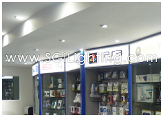 Image of SGi's LED Commercial Downlighting