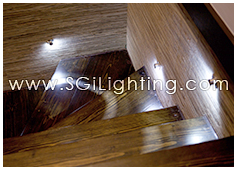 Image of SGi's LED Residential Stairway Lighting