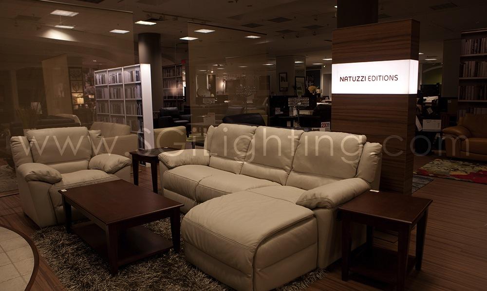 Image of SGi's LED Retail Display Lighting