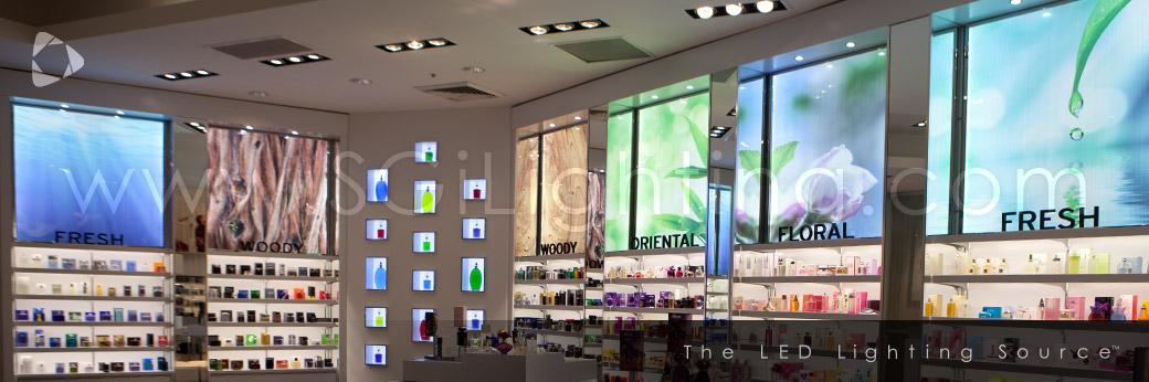 National retailer toronto eaton centre sgi lighting description design technical testimonial aloadofball Images