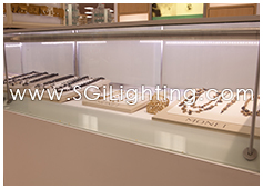 Image of SGi's Retail Display Lighting - Commercial Application