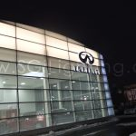 Image of SGi's LED Facade Lighting Commercial Installation