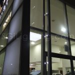 Image of SGi's LED Facade Lighting in a Commercial Application
