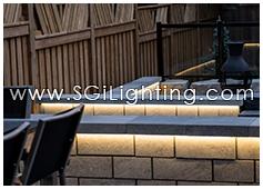 Image of SGi's LED Hardscape Lighting