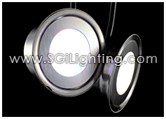 Image of SGi's LED Accent Light - 0.5 Watt Deck Light Round - Professional Grade