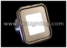 Image of SGi's LED Accent Light - 0.5 Watt Deck Light Square - Professional Grade