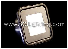 Image of SGi's LED Accent Light - 0.5 Watt Deck Light Square - Professional Grade