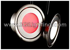 Image of SGi's LED Accent Light - 0.7 Watt Deck Light Round RGB - Professional Grade