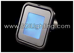 Image of SGi's LED Accent Light - 0.7 Watt Deck Light Square RGB - Professional Grade