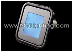 Image of SGi's LED Accent Light - 0.7 Watt Deck Light Square RGB - Professional Grade