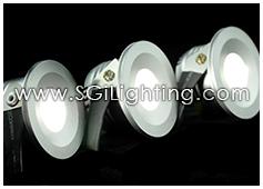 Image of SGi's LED Accent Light - 1 Watt Bullet Light Recessed - Professional Grade