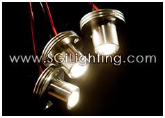 Image of SGi's LED Accent Light - 1 Watt Dot Light Mini - Professional Grade