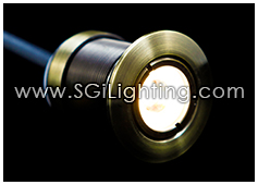 Image of SGi's LED Accent Light - 1 Watt Inground Light Cylinder - Professional Grade