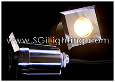Image of SGi's LED Accent Light - 1 Watt Inground Light Square - Professional Grade