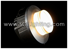 Image of SGi's LED Accent Light - 1 Watt Step Light Frosted - Professional Grade