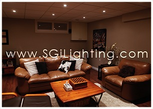 Image of SGi's LED Downlighting