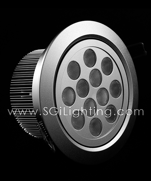 SGi LED Downlights [P]_12 Watt Swivel Light