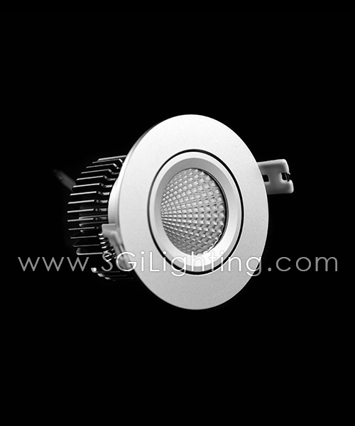 SGi LED Downlights [P]_13 Watt Swivel Light