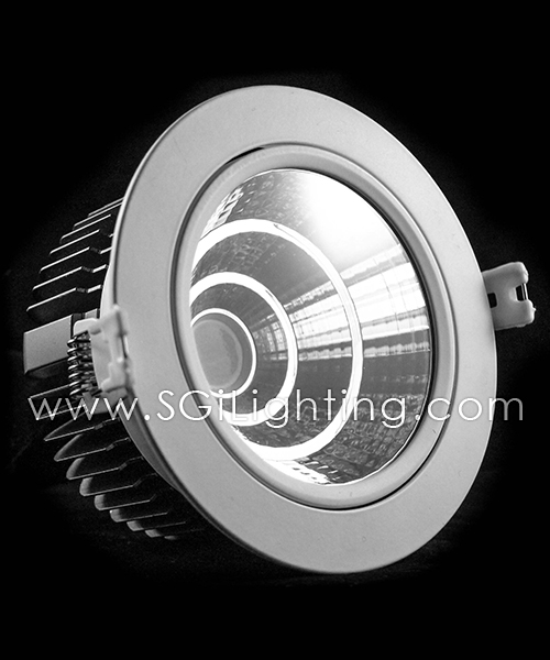 SGi LED Downlights [P]_32 Watt Swivel Light