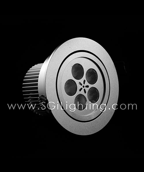 SGi LED Downlights [P]_5 Watt Swivel Light