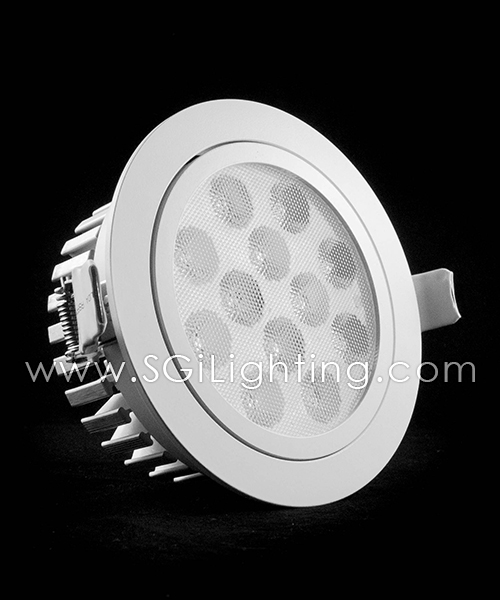 SGi LED Downlights [S]_12 Watt Swivel Light