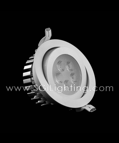 SGi LED Downlights [S]_5 Watt Swivel Light