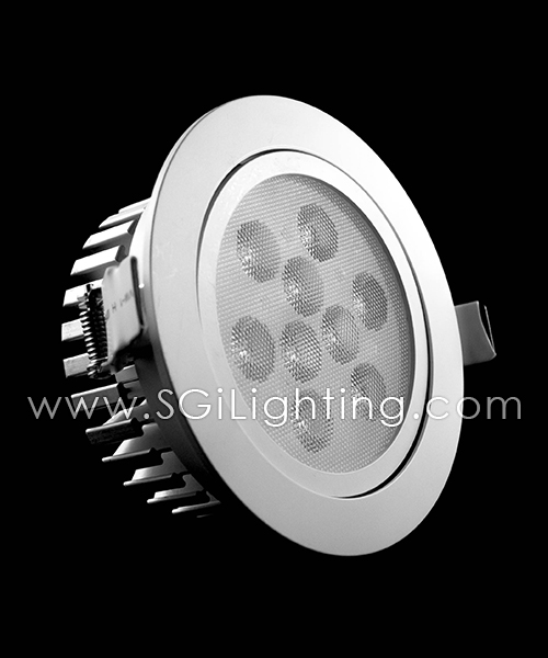 SGi LED Downlights [S]_9 Watt Swivel Light