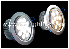 Image of SGi's LED Downlight - 12 Watt Swivel Light