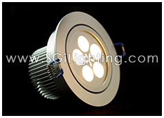 Image of SGi's LED Downlight -5 Watt Swivel Light