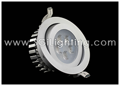 Image of SGi's LED Downlight - 5 Watt Swivel Light