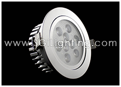 Image of SGi's LED Downlight - 9 Watt Swivel Light