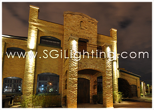 Image of SGi's Facade Lighting