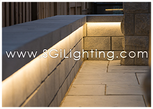 Image of SGi's LED Hardscape Lighting
