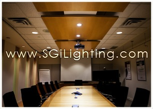 Image of SGi's LED Office Lighting