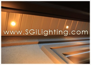 Image of SGi's LED Soffit Lighting