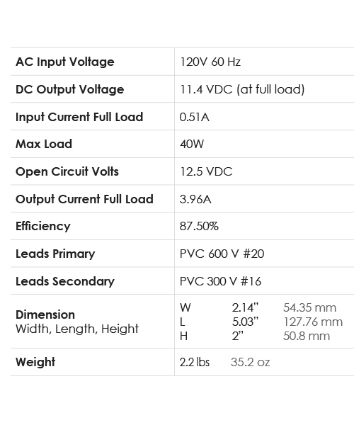 Spec-Chart_Power_12VDC-40D