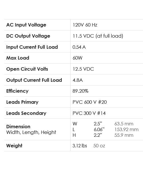Spec-Chart_Power_12VDC-60D