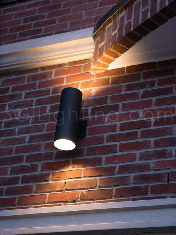 Image of SGi's LED Facade Lighting in a Landscape Application