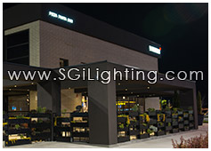 Image of SGi's LED Patio Lighting for Il Fornello Restaurant