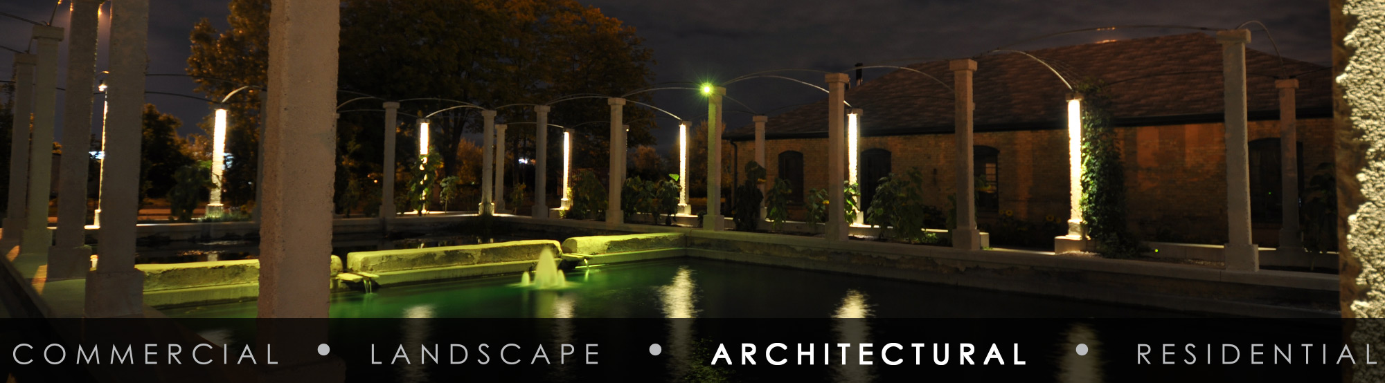 Emphasize Architectural elements & SGi Lighting azcodes.com