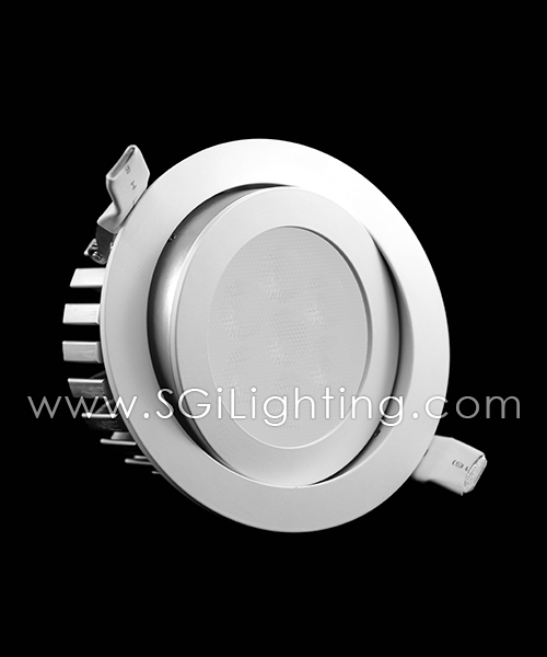 SGi LED Downlights_5 Watt Swivel RGB